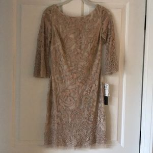 NWT! Adian Mattox embellishment dress